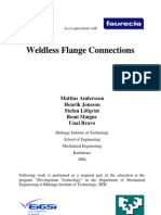 Weldless Flange Connections