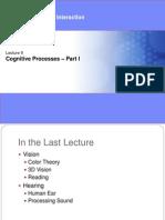 9-CognitiveProcesses-I