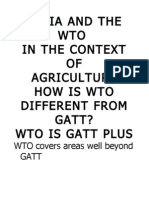 how is wto different from gatt