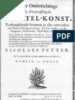 Worstel-Konst - 1674 (Dutch Combat Ives)