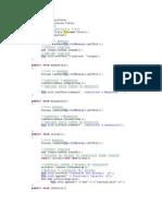 Ejemplo GUI Java