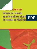 Nivel Inicial Material de Reflexion Para Desarrollo Curricular