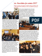 2007 Winter Newsletter
