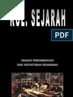 Kul. SEJARAH FORENSIK