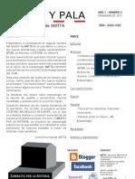 A pico y pala. Boletín de AMTTA 1-2 primavera de 2012
