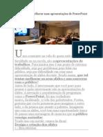 12 dicas para melhorar suas apresentações de PowerPoint