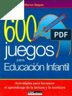 600 juegos para educación infantil