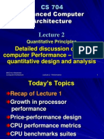 Advanced Computer Architecture-II - CS704 Power Point Slides Lecture 02