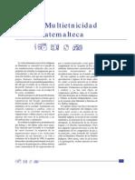 Cap%C3%ADtulo VI- La Multietnicidad Guatemalteca