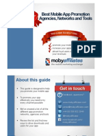 Guide to Mobile App Promotion Agencies, Networks and Tools