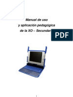 Manual de Uso y Aplicación Laptop XO 1.5 Nivel Secundaria