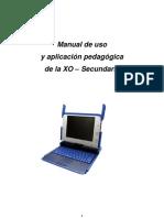 Manual de Uso y Aplicación Laptop XO 1.5 Nivel Secundaria