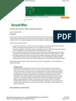 Excel Surface Plots Contours
