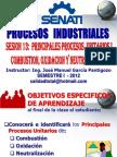 SESION Nº 13 PROCESOS UNITARIO I - COMBUSTION & OXIDACION &  NEUTRALIZACION