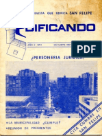 Edificando (v1 n2 / octubre 1984)