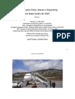 Flight Report da Viagem pela China, Macau e Hong Kong