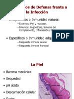 TEMA 11 POD Mec. inespecíficos de defensa. Inmunidad natural