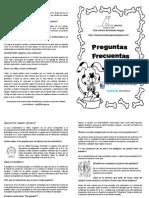 FOLLETO PREGUNTAS FRECUENTES