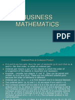 Business Mathematics 2