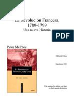 McPhee. Revolución Francesa