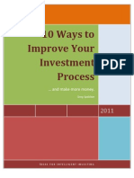 66407114 10 Ways to Improve Your Investment Process