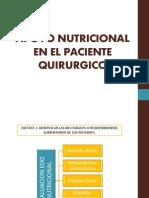 Apoyo Nutricional en El Paciente Quirurgico