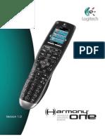 Logitech Harmony One Manual