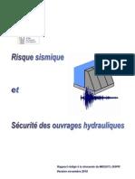 GT Barrages-seismes Rapport Novembre 2010