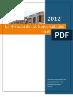 La Historia de Las Universidades en El Mundo