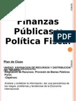 Finanzas Públicas y Politica Fiscal