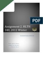 Toxicology Response Paper