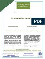 LA DECEPCIÓN HOLLANDE (Es) THE HOLLANDE DELUSION (Es) HOLLANDEREN IRUZURRA (Es)