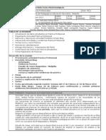 Acta 1ª reunión coordinación  prácticas profesionales 2012 Melipilla