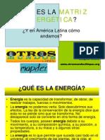 Que Es La Matriz Energetic A Gustavo Castro