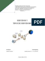 Servidores y Tipos de Servidores