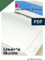 Manual Impresora Oki Ingles