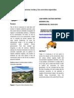 Las Edificaciones Verdes y Los Concretos Especiales 2011