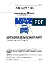 Lada 1600 Maintenance Manual