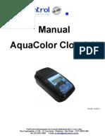 Manual Aquacolor Cloro e pH - IP67 Rev03 12-2011
