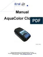 Manual Aquacolor Cloro e pH - IP67 Rev03 12-2011