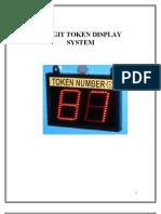 2 Digit Token Display System Report