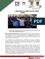 Impulsar más Desarrollo en Política Social