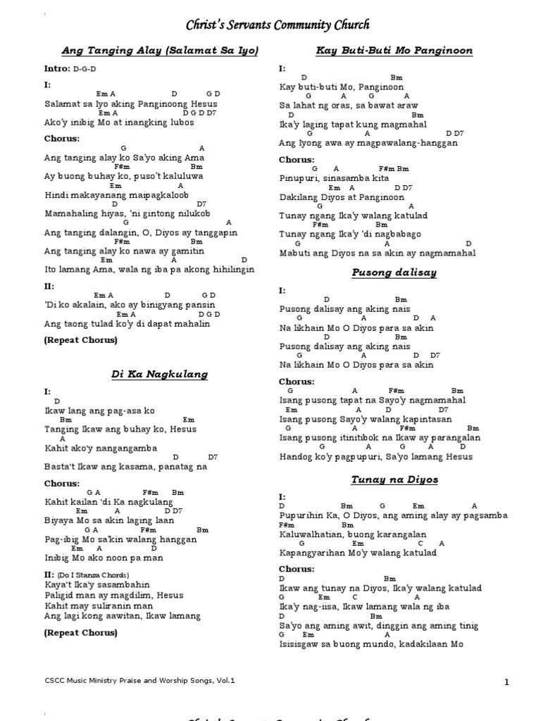 Buksan ang Aming Puso Lyrics, Chords and PDF Download