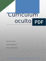 currículum oculto grupal