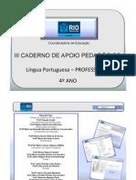 4AnoLPortuguesaProfessor3CadernoNovo