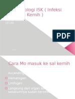 Patofisiologi ISK ( Infeksi Saluran Kemih ) Skenario 1