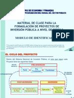 MODULO DE IDENTIFCACION