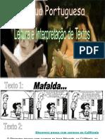 Leitura e Interpretação de Texto