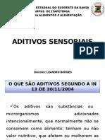 Aditivos sensoriais