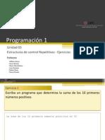 04 Estructuras de Control Repetitivas Ejercicios